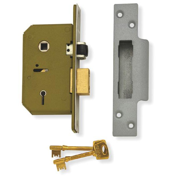 Lever Locking System : Mortice rim and cylinder lock cases