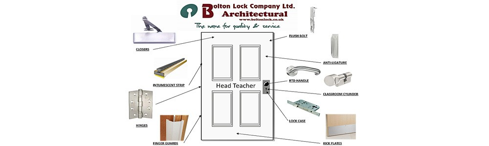 School Architectural Ironmongery
